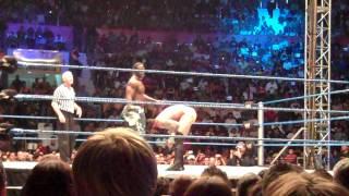 CM Punk Butt Naked vs R-Truth - Quito, Ecuador 14 Feb. 2010