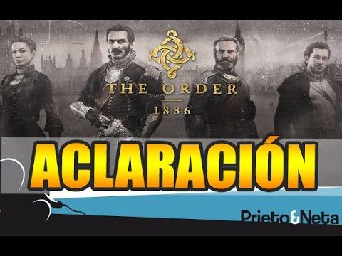ACLARACIÓN Y DISCULPAS || The Order 1886