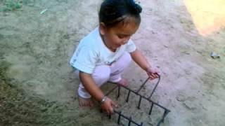 funny baby Tractor driving Dhaliwal