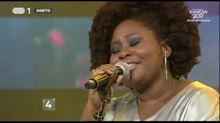 Deolinda Kinzimba - O Que Eu Vi Nos Meus Sonhos - 1ª Semifinal | Festival da Canção