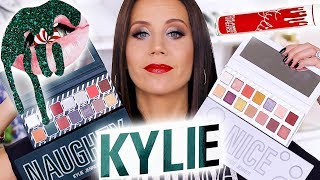 KYLIE COSMETICS HOLIDAY COLLECTION | REVIEW plus HOLIDAY EDITION BUNDLE GIVEAWAY