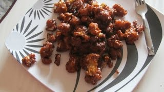 Gobi Manchurian Dry Recipe / Indian snacks recipe / Indian veg recipes/ Recipes by Poonam