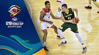 Germany v Lithuania - Live - FIBA U19 Basketball World Cup 2017