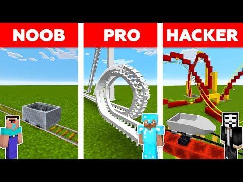 Xxx Mp4 Minecraft NOOB Vs PRO Vs HACKER ROLLER COASTER CHALLENGE In Minecraft Animation 3gp Sex