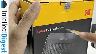 Kodak TV Bluetooth Speaker Unboxing And Sound Test | Intellect Digest