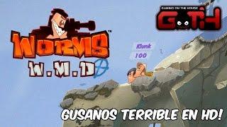 GUSAMOS TERRIBLE HD! Worms W.M.D en Español - GOTH