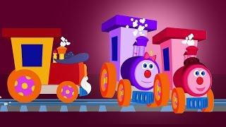 Ben der Zug   Finger-Familie   Kinderreime für Kinder   Finger Family Rhyme   Ben The Train
