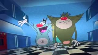 Cartoon Movies Disney Full Movie   Animation Movies 2015   Oggy And The Cockroaches