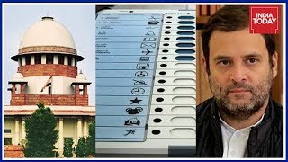 Congress Moves SC To Cross Check 25% Of Votes With VVPAT Slips In Gujarat Polls