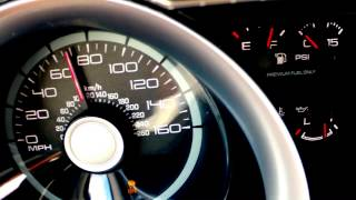 Ford Mustang Shelby GT500 0-100 top speed acceleration