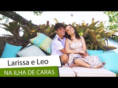 Larissa Manoela e Leo Cidade na Ilha de CARAS