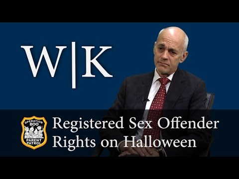 Operation Boo: Registered Sex Offender Rights on Halloween
