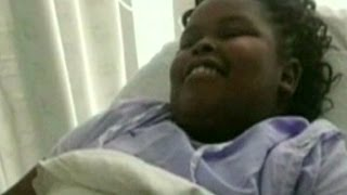 Brain dead teen's body moved from hospital