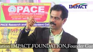 Handwriting Expert Mr Mallikarjuna Rao at IMPACT Ongole 2016
