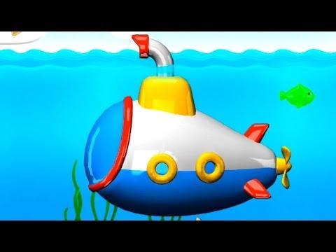 лодки для детей мультфильм