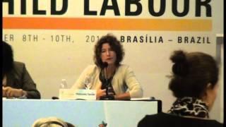 Manuela Tomei (International Labour Organization - ILO) - Child Labor in Domestic Work - III GCCL