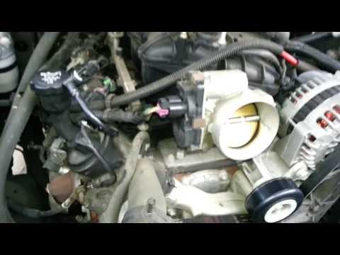 How to remove and replace LS Throttle Body   Vortec 4.8 5.3 6.0 6.2 Liter 2007 - 2013