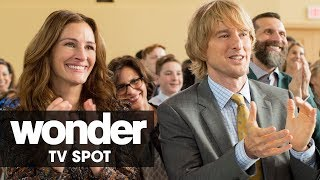"Wonder (2017 Movie) Official TV Spot - ""Standing Ovation"" – Julia Roberts, Owen Wilson"
