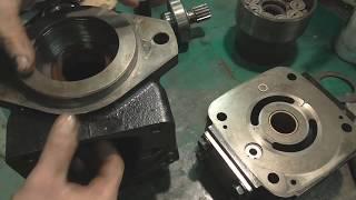 Простий ремонт гідро-насосу