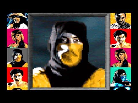Xxx Mp4 Mortal Kombat 1 Sega Genesis Scorpion Playthrough 3gp Sex
