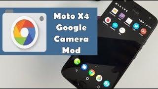 Moto X4 Google Camera Mod
