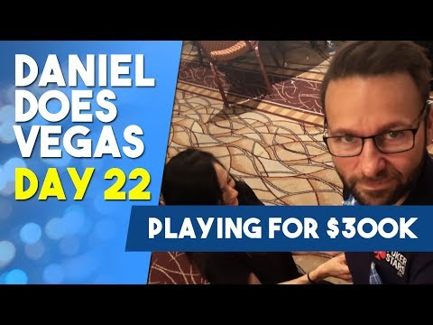 Down to 14 left Playing for $300K in $10K Limit Hold'em - WSOP VLOG DAY 22