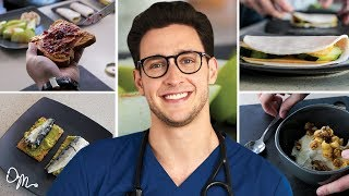 QUICK, TASTY, HEALTHY MEAL PREPS   5 Meal Ideas for Busy People   Doctor Mike
