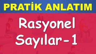 30) RASYONEL SAYILAR- Konu-Soru Çözümü-YGS-KPSS-DGS-ALES-TEOG-Matematik-Abdül Aziz Gürbüz