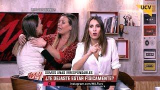"""MILF (26-07-2017) - Yazmín increpa a Claudia Conserva por """"dejarse estar"""" físicamente"""