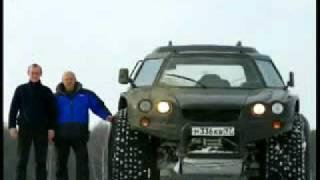 سيارة برمائية روسية جبارة