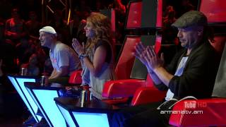 Grigor Kyokchyan,Grenade by Bruno Mars - The Voice Of Armenia - Blind Auditions - Season 1