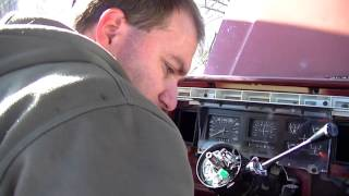 Red Ford Turn Signal Switch Installation