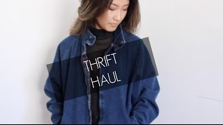 Thrift Haul + Try On | petitejuls