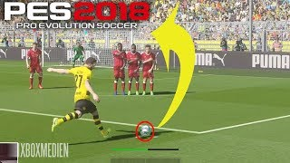 PES 2018 BEST GOALS Compilation (Xbox One, PS4, PC)