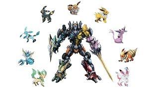 Eeveelutions rangers - All in one ( by Shin Art ).