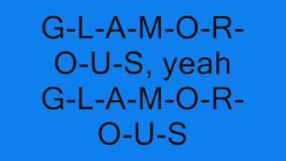Fergie [Ft. Ludacris] - Glamorous [Lyrics On Screen]