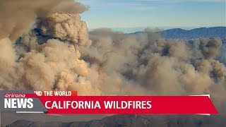 California wildfires rage on