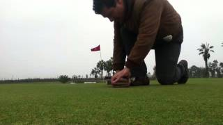 Reconocimiento del Thach en un Green de Golf