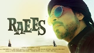 Shahrukh Khan's DASHING LOOK In RAEES New Poster