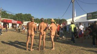Les naturistes s'invitent à la Fête de l'Huma