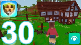 Block Craft 3D: City Building Simulator - Gameplay Walkthrough Part 30 - Level 14, Inn (iOS)