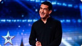 Can Darren Altman make a good impression? | Week 1 Auditions | Britain's Got Talent 2016