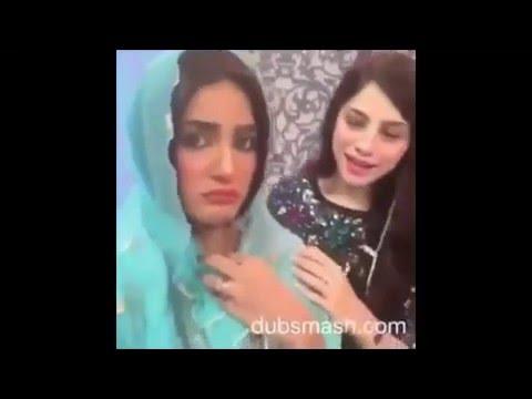 Leaked Video:  Neelam Munir and Mathira French Kiss
