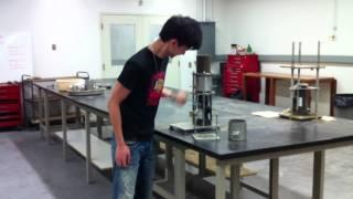 Soil mechanical lab compaction