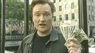 Remote: Conan and His Staffers Spend Money in New York City - 10/5/2001