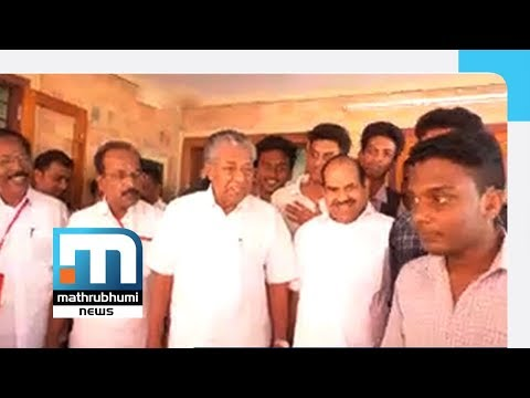 Xxx Mp4 Pinarayi Scolds Boy Who Tried To Take Selfie Then Gives In Mathrubhumi News 3gp Sex