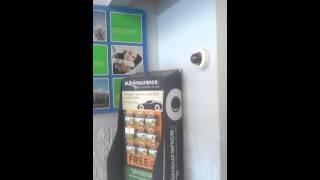 Walmart facial recognition cameras!