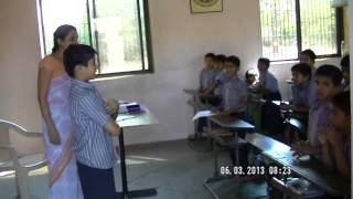 One of the class room with lady teacher.