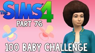 The Sims 4: 100 Baby Challenge - Disco Nora (Part 76)