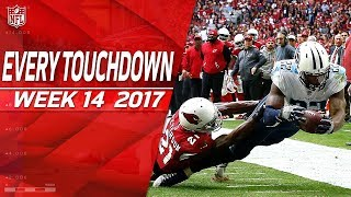 Every Touchdown from Week 14 | 2017 NFL Highlights